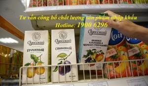 Tư vấn công bố chất lượng sản phẩm nhập khẩu
