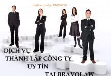 Dịch vụ thành lập công ty - BRAVOLAW