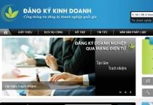Đăng ký thành lập đăng ký kinh doanh qua mạng