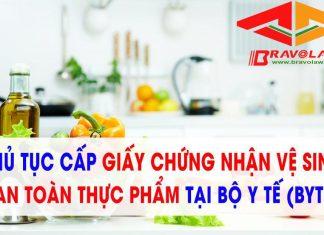 Thủ tục đăng ký Xin giấy chứng nhận cơ sở đủ điều kiện an toàn thực phẩm cho cơ sở sản xuất bún, miến, bánh phở