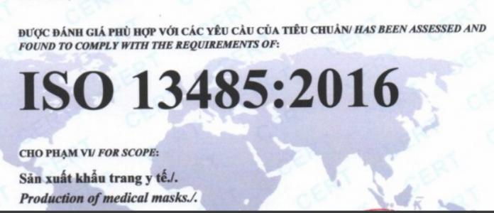 DỊCH VỤ CHỨNG NHẬN ISO 13485-2016