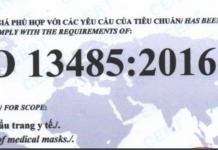 Chứng nhận ISO 13485-2016