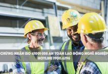 Dịch vụ chứng nhận ISO 45001:2018